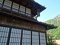 Old accommodations Osakaya in Akasawa and Mt.Shichimen-san.JPG