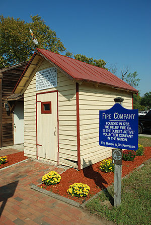 English: Old firehouse, Mount Holly, New Jersey