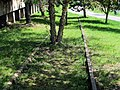 Old rails in East Boston Greenway, May 2012.JPG