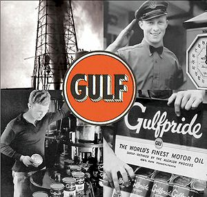 Official Gulf Oil Corporation photos from a pr...
