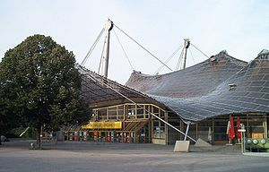 Olympiahalle Eingang West (ca. 2004)