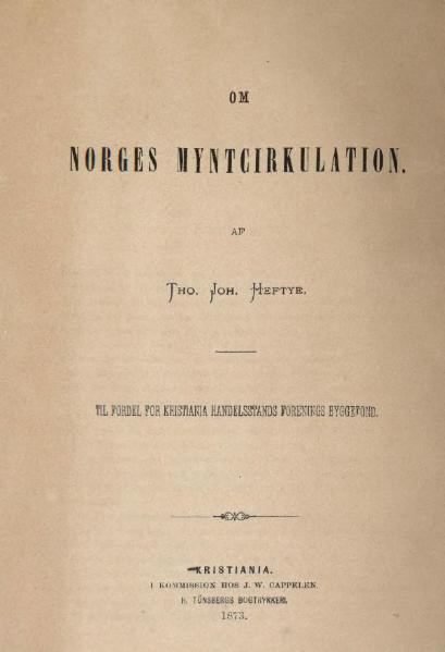 File:Om Norges Myntcirkulation.djvu