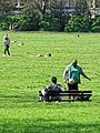 One form of exercise social distancing Tottenham style Covid-19 pandemic 13.jpg