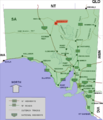 Oodnadatta location map in South Australia.PNG