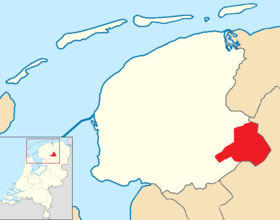 Ooststellingwerf location map municipality NL.png