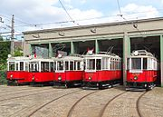 Operating Vehicles of the Wiener Tramwaymuseum at Speising better