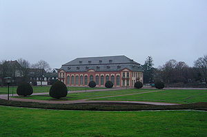 Bessungen - Orangerie in Darmstadt – southern façade.