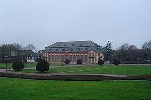 Orangerie in Darmstad - southern facada