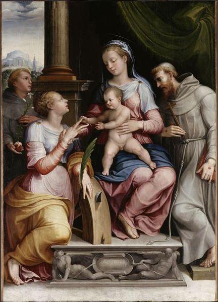 Archivo:Orazio Alfani Esponsales místicos de Santa Catalina 1549 Louvre.jpg