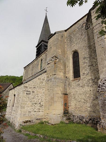 Orgeval (Aisne) église Notre-Dame