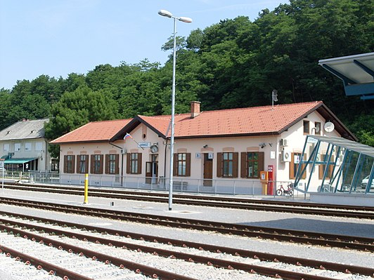 Ormož railway station