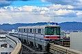 Osaka Monorail 2118 Minami-Settsu Station 2018-01-01 (39610008374).jpg