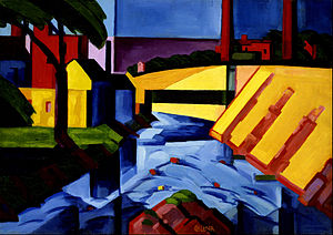 Oscar Florianus Bluemner - Evening Tones