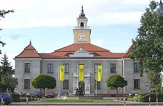 Ostrów Mazowiecka - Town hall