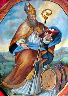 ST. OTHMAR, abbot of the Abbey of St. Gall
