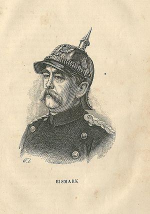 Armistice of Versailles - Image: Otto von Bismarck gravure