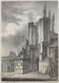 Oude burg, Gent (1823).PNG