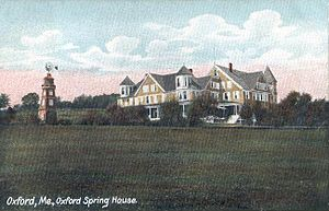 Oxford, Maine - Image: Oxford Spring House, Oxford, ME