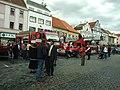 Písek, Velké Náměstí, hasiči II.JPG