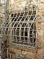 P1190833 - בית הרמן שטרוק - סורגים דקורטיביים על חלון.JPG
