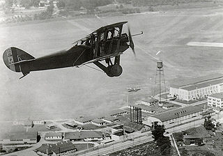 McCook Field US Army airfield and aviation experimentation station in Dayton, OH in use 1917-27