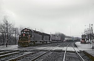 Penn Central freight train