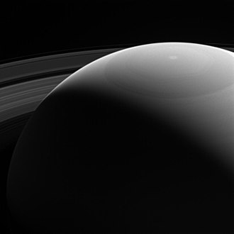 Saturn - Saturn and rings as viewed by the Cassini spacecraft (28 October 2016)