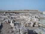 Egnazia da una traversa della Via Traiana