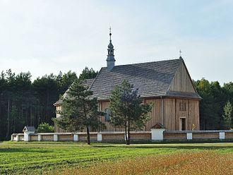 Kolbuszowa - Image: PL Kolbuszowa, skansen, kościół św. Marka z Rzochowa 2013 08 04 18 01 45 001