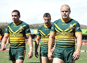 Darius Boyd - Boyd (left) while playing for the Prime Minister's XIII in 2012.
