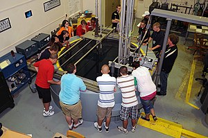 Purdue University Reactor Number One - The PUR-1 cooling pool