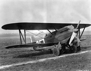 17th Weapons Squadron - 17th PS Curtiss PW-8 configured as XPW-8B prototype for P-1 Hawk, 1925