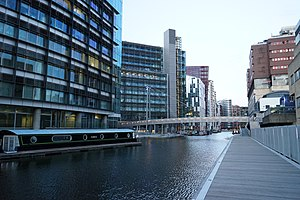 Paddington Basin - The redeveloped Paddington Basin
