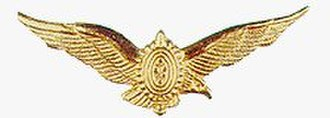Brazilian Army Aviation Command - Army Aviation aviator badge 1988.