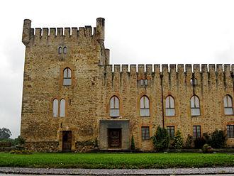Llanera, Asturias - Palaciu de Villanueva en San Cucao, council of Llanera, Asturias, Spain.