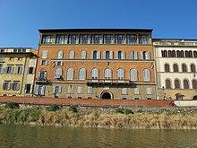 Der Palazzo Gianfigliazzi Bonaparte in Florenz (Quelle: Wikimedia)