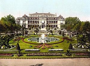 Palmengarten - Frankfurt Palm Garden in ca. 1890-1900