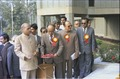 Pamulaparti Venkata Narasimha Rao Unveiling Inaugural Plaque - National Science Centre - New Delhi 1992-01-09 262.tif