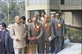 Pamulaparti Venkata Narasimha Rao Unveiling Inaugural Plaque - National Science Centre - New Delhi 1992-01-09 262.tif