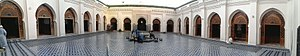 Panorama-grand-mosque-Meknes