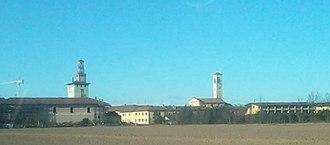 Cusago - Image: Panorama Cusago