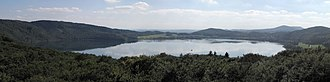 Laacher See - Panorama of the Laacher See