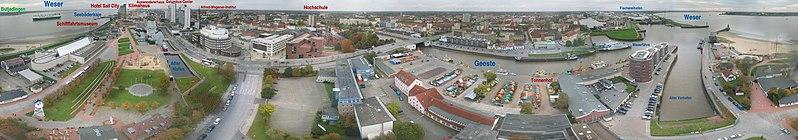 File:Panorama Radarturm Bremerhaven 25.jpg