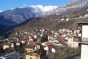 Panorama di Berzo Demo