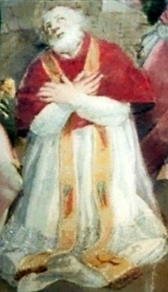 Pope Anicetus - Image: Papa Aniceto cropped