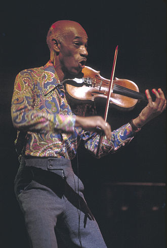 Rock violin - Papa John Creach in 1974