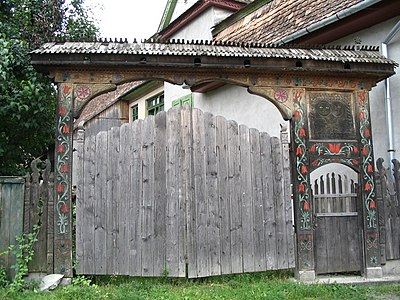 A Szekely gate