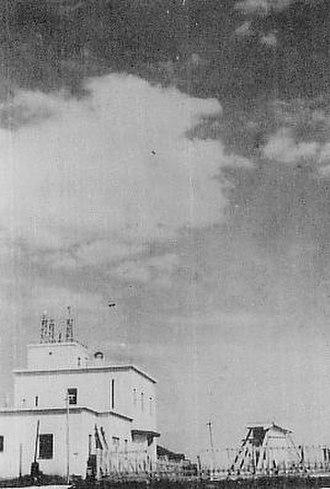 Paramushir - The Paramushiru Weather Station under Japanese control