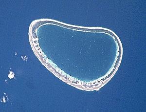 Paraoa - NASA picture of Paraoa Atoll