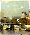 Paris Scene with Bridge, Jean-Charles Cazin.jpg